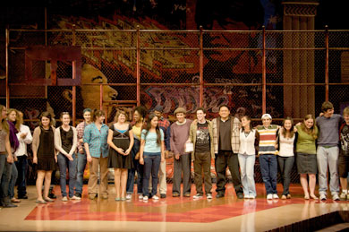 Berkeley High Jacket staffers receive donation from Berkeley Rep audiences
