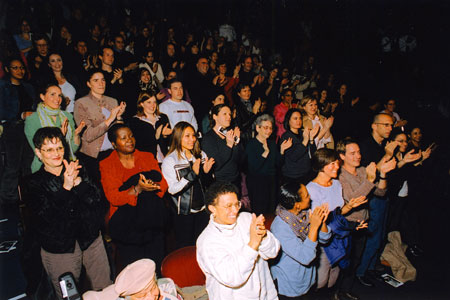 Clapping audience 2