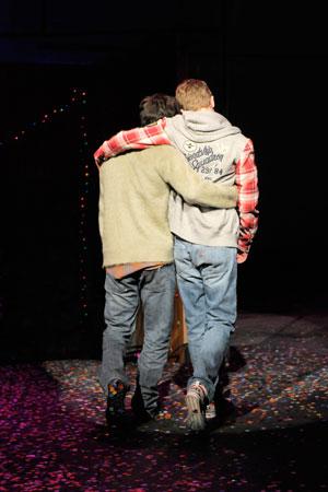 GF boys hug